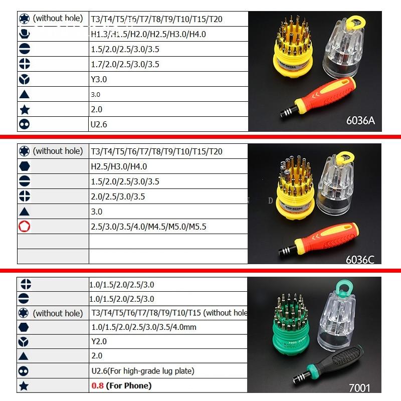 Gratis frakt 31 i 1 Precisionshandtag Skruvmejseluppsättning Mobil - Handverktyg - Foto 2