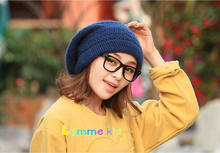 Winter hats girl beach hat accessories caps fashion knitting warm mixcolors 9 p/l free shipping