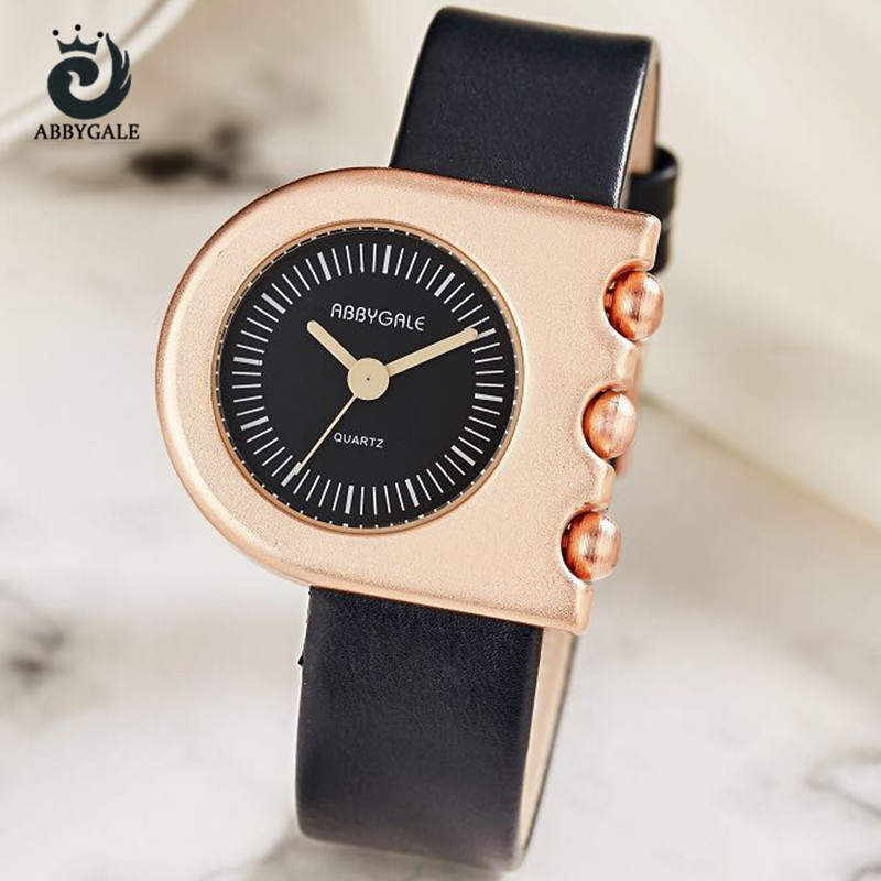 Unique Irregular Creative Dials Fashion Women Watches Creative Luxury Ladies Watch Analog Hour Vintage Girls Wristwatch Gift