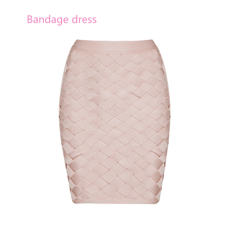 2017 New arrival High waist bodycon skirt pink black brown Above Knee lady skirt Sexy women pencil party skirts for wholesale