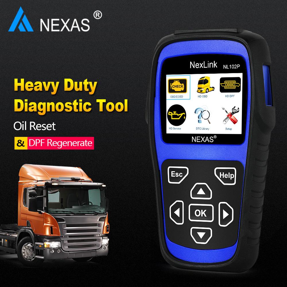 Heavy Duty Trucks Cars Scanner Nexas NL102P_7