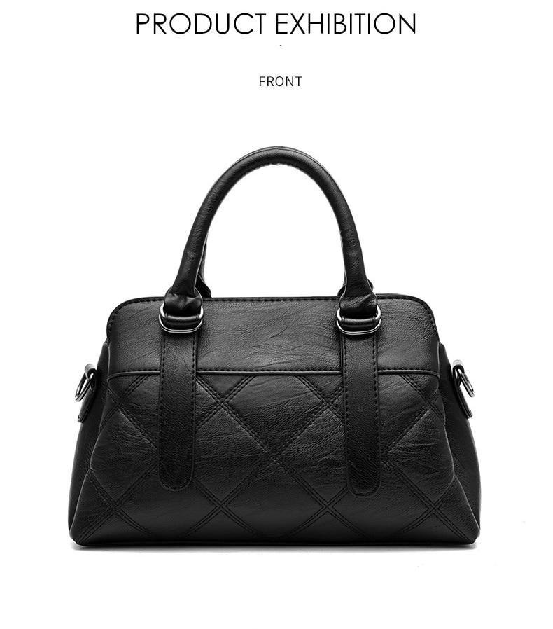 Women Bag 2019 New Women Messenger Bags Fashion Pu Leather Shoulder Bags Handbags Famous Brands, Big Crossbody Bags For Women 22