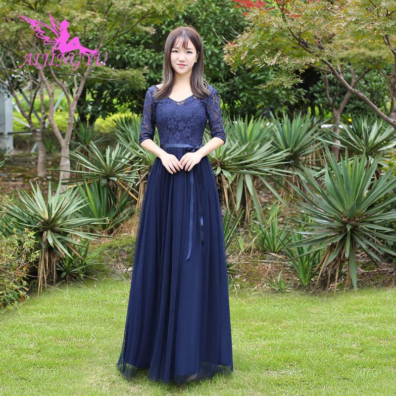 AIJINGYU 2018 Sexy Wedding Party Bridesmaid Dresses Short Formal Dress BN908