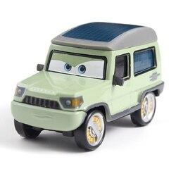 Samochody samochody Disney pixar mile Axlerod Metal odlewana zabawka samochód 1:55 luźne fabrycznie nowe w magazynie Disney Cars2 i Cars3