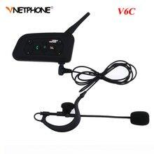 Vnetphone Professional  Full Duplex 1200M Referees Headset V6C Wireless BT Intercom Football Referee Interphone Earpiece