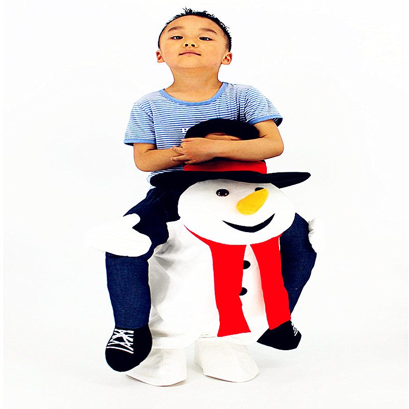 Children Inflatable Formal Dress Animal Christmas Snowman Cosplay Props Costume Halloween Christmas Gift L2673 цены