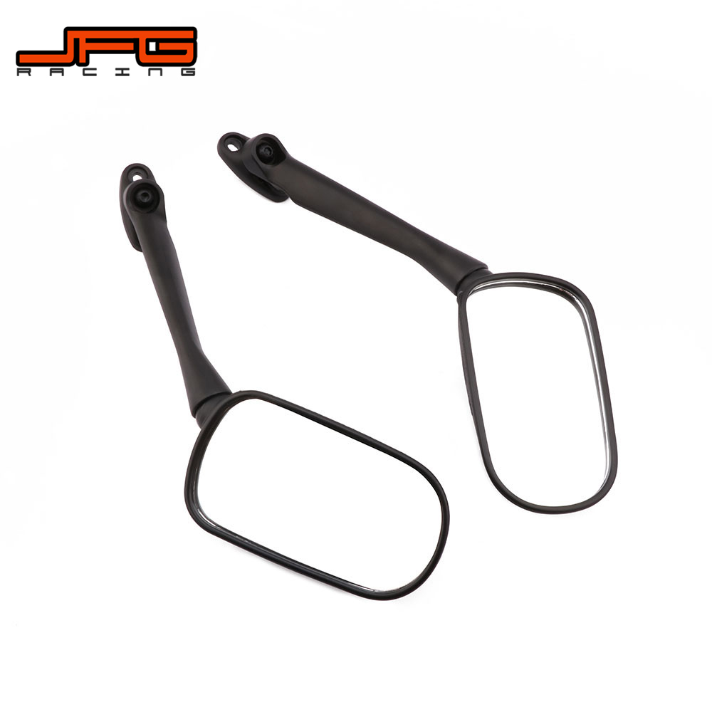 Motorcycle Motorbike A Pair Black Rearview Side <font><b>Mirrors</b></font> Rear View <font><b>Mirror</b></font> For <font><b>HONDA</b></font> CBR250 <font><b>CBR</b></font> <font><b>250</b></font> 2008 2009 2010 2011 2012 08-12 image