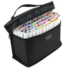 Touchfive Marker-Set Drawing-Pen Twin-Brush Graffiti Manga-Design 60-Colors School