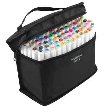 Twin Brush Marker Set Touchfive Graffiti Marker Pen Set Touchnew Sketching markers 60 Colors Drawing Pen Manga Design for School - DISCOUNT ITEM  36% OFF All Category