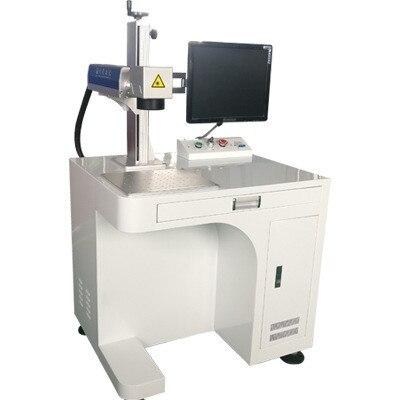High speed 20W 30W Mini/Portable/Desktop/ fiber laser marking laser marking machine price