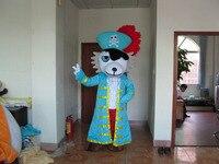 Лев пират Маскоты Костюм Прохладный пиратский Маскоты Экипировка Необычные платья Косплэй карнавал Бесплатная доставка для Хэллоуина веч