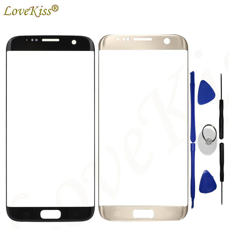 Lovekiss Touchscreen Panel Für Samsung <font><b>S7</b></font> Rand G935 G935F G935FD Touchscreen Sensor LCD Display Digitizer Glas Ersatz image