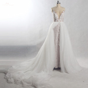 Image 1 - RSW815 tren desmontable vestido de novia largo 2 en 1