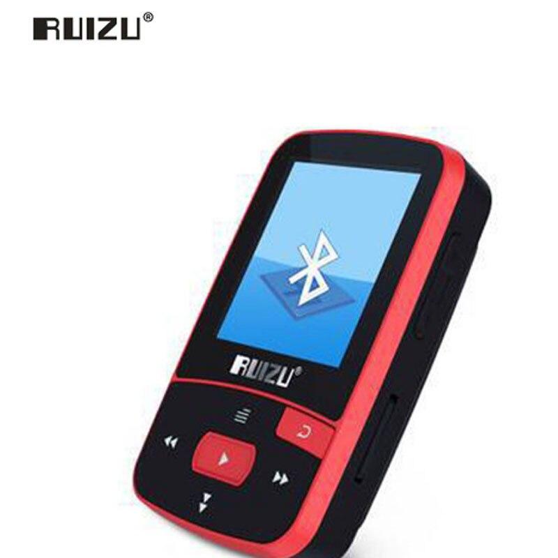 Tragbares Audio & Video Unterhaltungselektronik Ruizu X50 Sport Bluetooth Mp4 Musik-player Recorder Fm Radio Supprot Sd-karte Clip Bluetooth Mp34player 8 Gb Pk Ruizu X06 X18 X26 Dauerhaft Im Einsatz