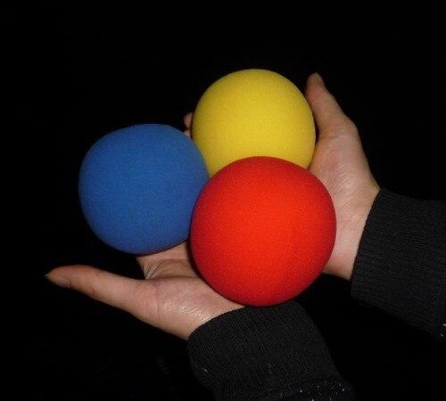 67460edbfa9 ⑦Super esponja bola (8 cm) 3 cores para escolher