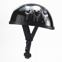 Motorcycle Helmets Bike Bicycle Helmets Open Half Face with Visor Goggles
