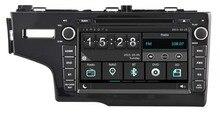 Car dvd Player for HONDA FIT 2014 LHD/1080P/DVR/3G/WIFI/TPMS/GPS/RADIO/bluetooth/navigation/free map camera