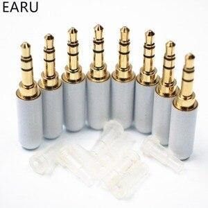 8 stücke 3,5mm Stecker Audio Jack 3 Polig Gold Überzogene kopfhörer Adapter Buchse für DIY Stereo Headset Kopfhörer für reparatur