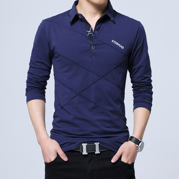Polo Shirt Long Sleeve Casual Shirt 1