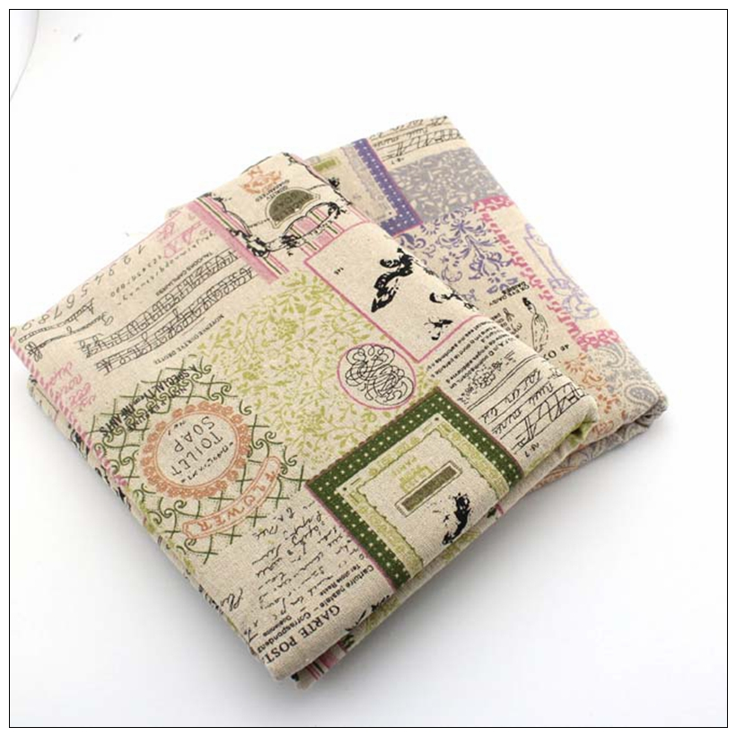 20 pieces of color do not repeat cotton and linen material DIY patchwork crafts coin purse cloth mats 20 pieces batch 5050 in Fabric from Home Garden