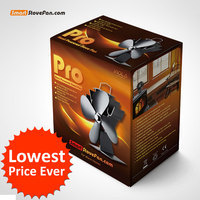 Newest High Quality Stove Fan Liank P429 Eco Friendly Heat Powered Stove Fan For Wood Gas