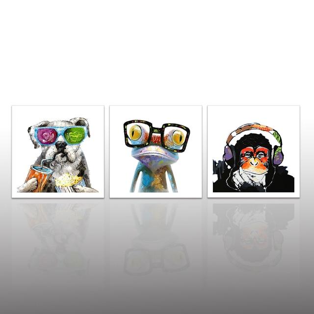 Aliexpress.com : Buy Animals Canvas Wall Art Modern Gorilla Monkey ...
