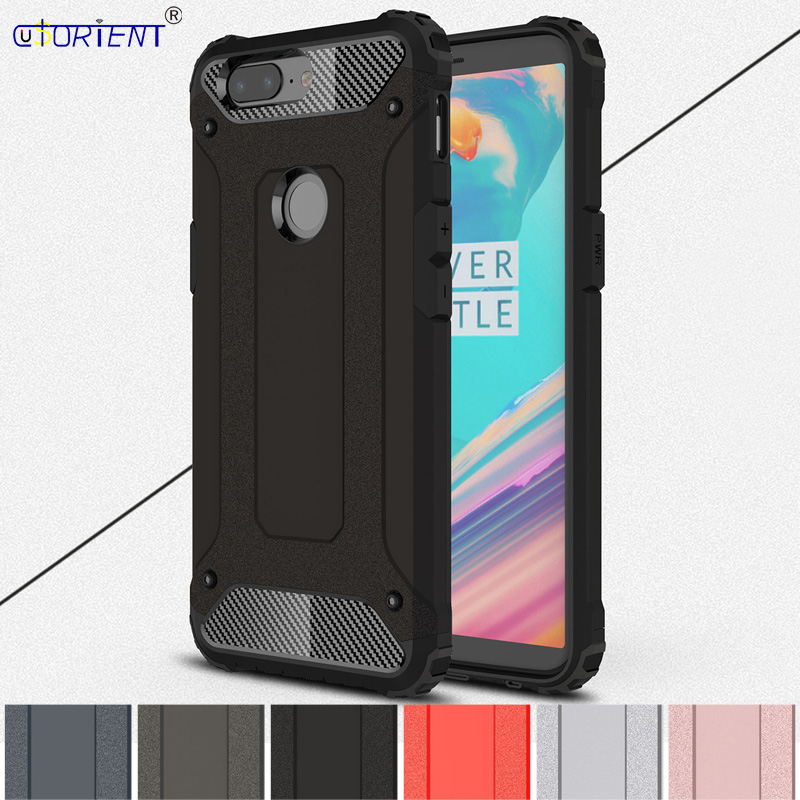 Hybrid Armor Case for OnePlus 5T A5010 OnePlus5T Phone Cover for Funda One Plus 5T OnePlus5 T A 5010 Hard PC Bumper Back Shell image