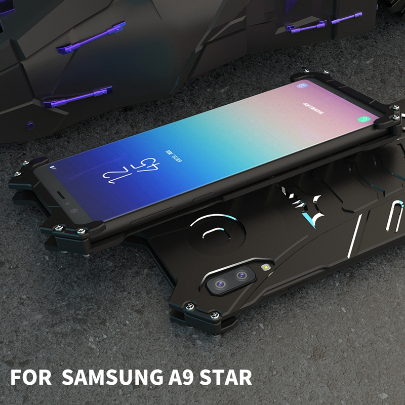 Image 5 - Coque for Samsung Galaxy A9 Star Case Aluminum Metal Shockproof Phone Case on for Funda for Samsung A9 Star Lite Case Cover Men-in Fitted Cases from Cellphones & Telecommunications