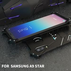 Image 5 - Coque para Samsung Galaxy A9 estrella caso de Metal de aluminio a prueba de golpes a prueba teléfono caso para Funda para Samsung A9 Star Lite cubierta de la caja de los hombres