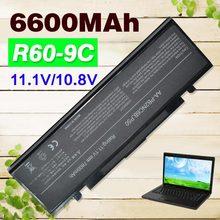 6600mAh Laptop Battery R40 R45 For Samsung R408 R410 R458 R460 R510 R60 R65 R70 R610 P210 P460 P50 P560 P60 Q210 Q310 AA-PB2NC3B