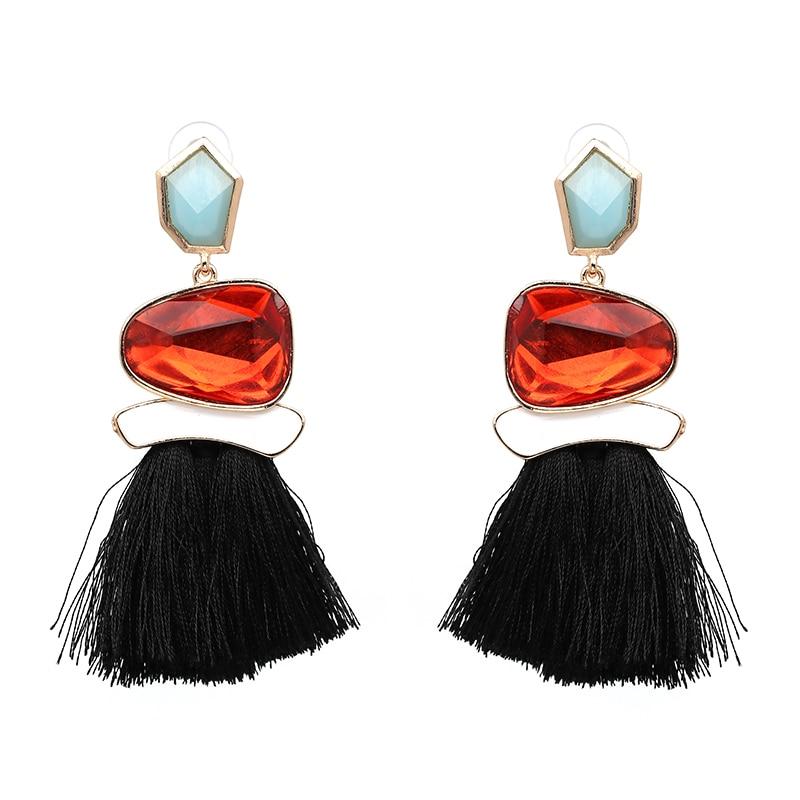 Boho Кольорові сережки для жінок - Модні прикраси - фото 3