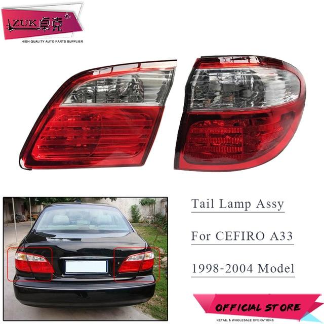 Zuk Outer Inner Brake Light Tail Lamp For Nissan Cefiro Maxima A33 1998 1999 2000 2001 2002 2003 2004