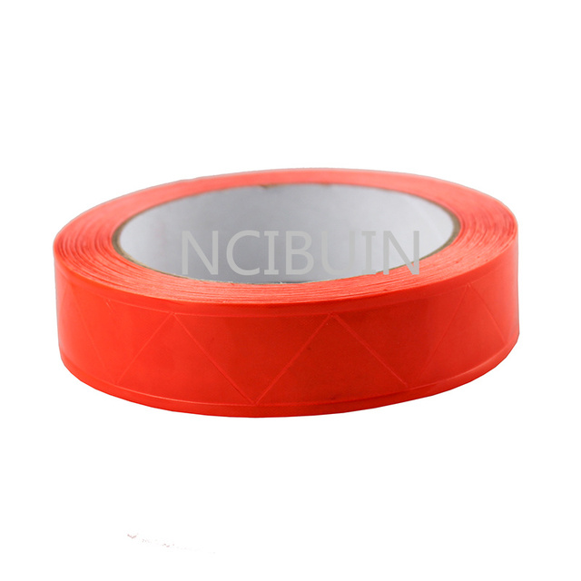 2 Meter Red Reflective Tape PVC Belt Stripe Warning Sew On Clothes Cap Bags 25mm1 V25 3