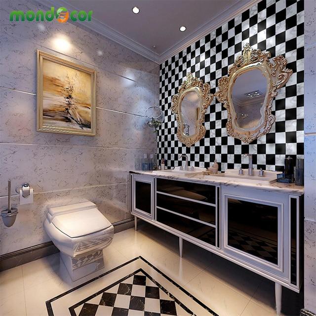 45 500 Cm Waterproof Pvc Kertas Dinding Mosaik Plastik Vinyl Diri Adhensive Wallpaper Untuk