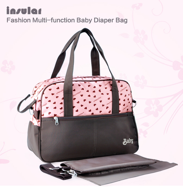 Fashion Baby Diaper Backpack Shoulders Baby Maternity Mother Bag Baby Diaper Nappy Changing Bag Stroller Bag Multifunctional