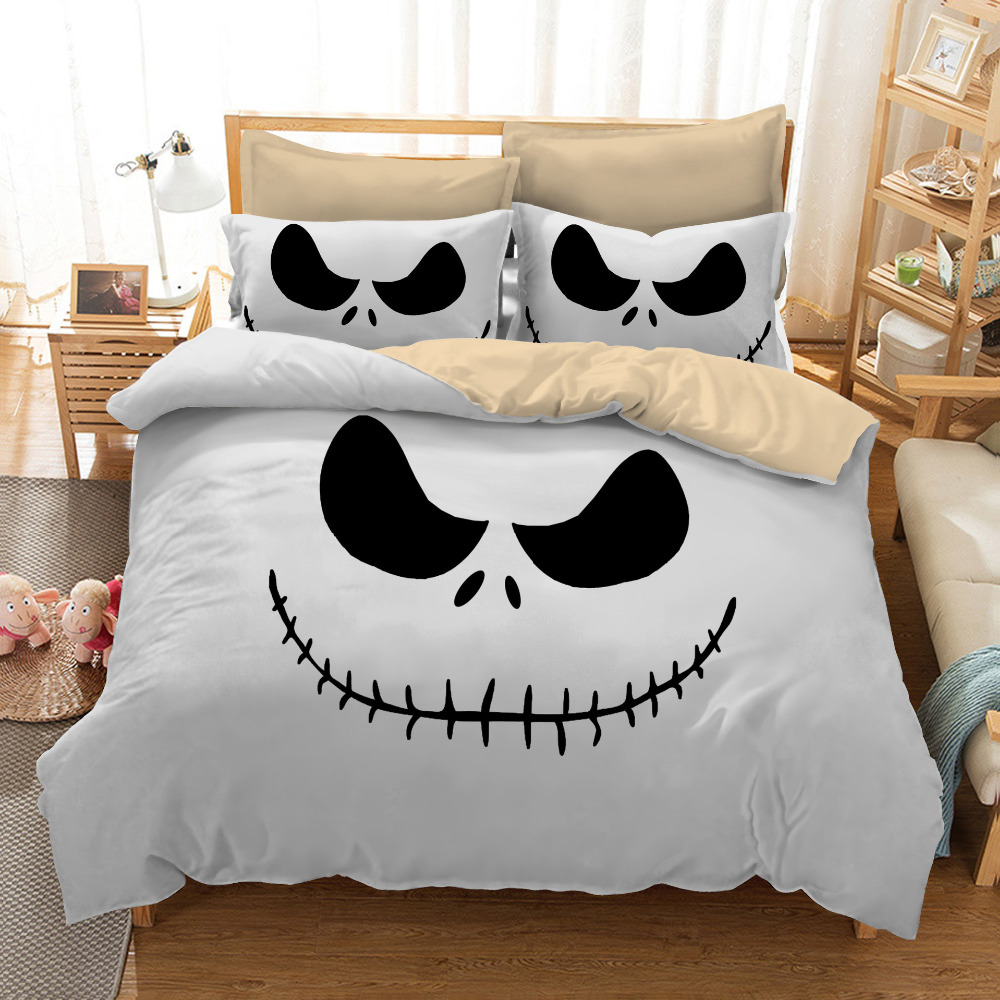 Nightmare Before Christmas Jack Skellington Halloween Bedding Duvet ...