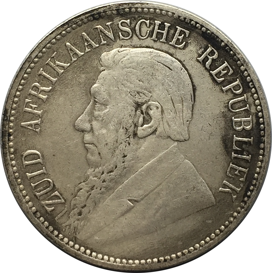 South Africa Pre Union 5 Shillings Zuid Afrikaansche Republiek 1892 90% Silver Copy Coin Can Make Old Color