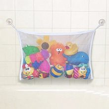 On Sale Bath Time Toy Hammock Baby Toddler Child Toys Stuff Tidy Storage Net Organiser(China)