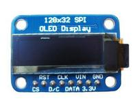 El Envío Gratuito! 1 unid 0.91 pulgadas OLED 128X32 Módulo de Interfaz I2C Monocromo ssd1306