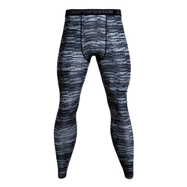 Camouflage Army Green Joggers Leggings Men Quick Dry Compression Pants Gyms  Fitness Tights Sportswear Casual Crossfit Trousers 9ad0d7f16600