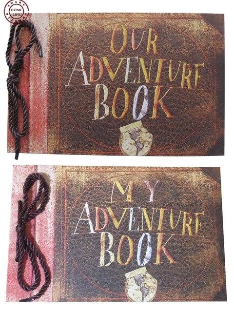 Nuestro Libro de Aventuras y Mi Libro de Aventuras, Pixar Película del libro de Recuerdos, DIY Álbum de Fotos de La Boda, Regalos de aniversario