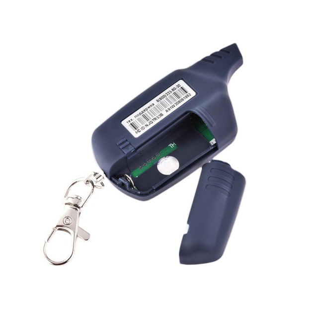Anti-theft System A91 LCD Remote Controller For 2 Way Car Alarm Starline 91 Engine Starter Fob Keychain/lcd Body Remote