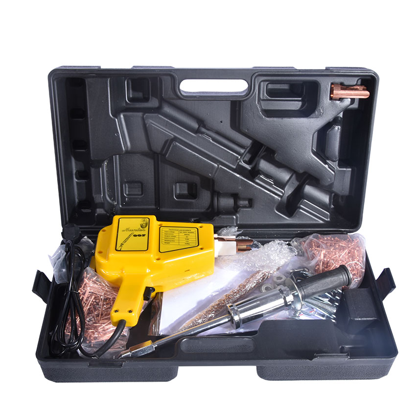 цена на Mini spot welder for repair Spot Welder hunter stud welder machine body vehicle bodywork repair welding machine