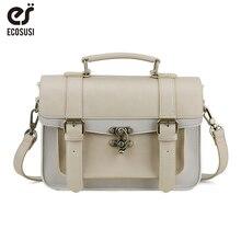 Preppy style women handbag classic mori girl leather handbags leisure portable messenger bags