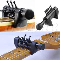 Многофункциональный 6 аккорд Capo открыть тюнинг паук Аккорды для акустической гитары J24