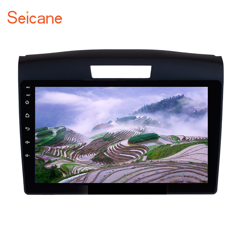 Seicane 9 Inch Car Radio GPS for 2011 2012 2013 <font><b>2014</b></font> 2015 <font><b>Honda</b></font> <font><b>CRV</b></font> With Bluetooth Touch Screen autostereo Car <font><b>Multimedia</b></font> player image