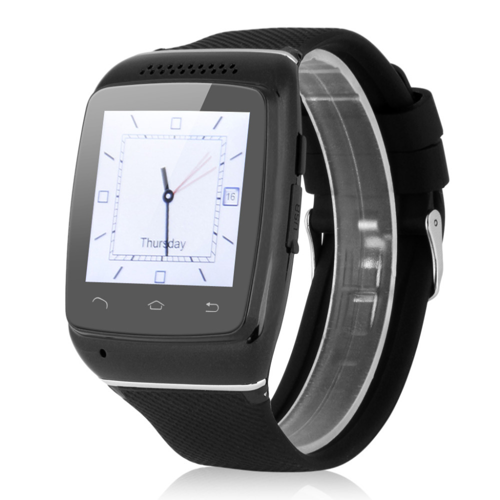 ФОТО  Bluetooth Smart Wristwatch Sync Call SMS Music Weather Reminder Reloj For Android IOS Reloj Inteligente