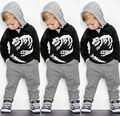 Autumn Baby Boys Kids boy Long Sleeve T-shirt Hoodie Top Clothes Pant Cute Kids Warm Outfit Sets