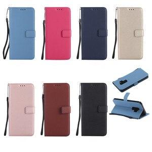 Кожаный чехол для телефона Samsung Galaxy S9 S8 Plus S6 S7 Edge S5 S4 S3 Mini Grand Prime Note 9 8 5 откидной Чехол-кошелек с отделением для карт