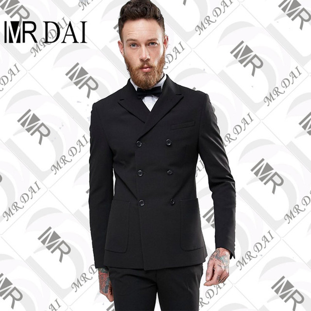 Md-015 2018 calle moda blanco hombres traje casual terno slim fit 2  unidades chaqueta d3e119d9d5d